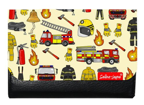 Selina-Jayne Firemen Limited Edition Designer Small Purse